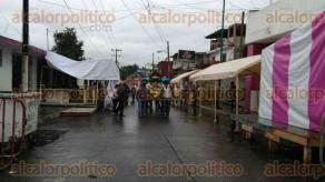 Xalapa, Ver., 10 de diciembre de 2016.- Continúa la afluencia de creyentes a la Basílica Menor de El Dique, en esta Capital, como parte de las festividades en honor a la Virgen de Guadalupe.