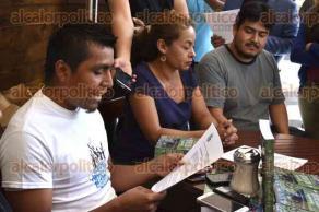 Xalapa, Ver., 16 de enero de 2017.- Miembros del Colectivo de Pueblos de la Cuenca Antigua por los Ríos Libres, invitan a la celebración del tercer aniversario de la lucha por la defensa de dicha cuenca, este 20 de enero a partir de las 8:30 horas, en la Plaza Central de Jacomulco.