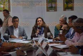 Xalapa, Ver., 20 de enero de 2017.- En las instalaciones de la gerencia estatal de la CONAFOR, fue la reunión del