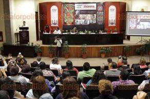 """Xalapa, Ver., 20 de enero de 2017.- En el auditorio """"Sebastián Lerdo de Tejada"""" del Congreso local se presentó el foro"""