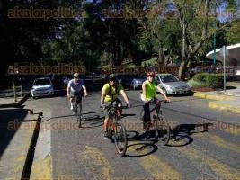 Xalapa, Ver., 21 de enero de 2017.- Durante el primer semestre de este año, se desarrollará una rodada universitaria por mes con recorridos de 10 kilómetros en las cuales puede participar el que así lo desee.