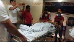 Coatzacoalcos, Ver., 23 de enero de 2017.-Paramédicos y cuerpos policiacos llegaron a la cantina