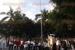 Veracruz, Ver., 23 de enero de 2017.- La banda de guerra de la escuela Náutica Mercante