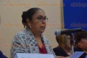 Xalapa, Ver., 21 de febrero de 2017.- La rectora de la UV, Sara Ladrón de Guevara, inauguró la