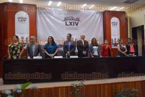 """Xalapa, Ver., 23 de febrero de 2017.- En el auditorio """"Sebastián Lerdo de Tejada"""" del Congreso del Estado se inauguró el foro"""
