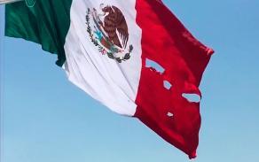 Ciudad de México, 24 de febrero de 2017.- Gobierno Federal dio a conocer que cuando una bandera está deteriorada, debe destruirse en una ceremonia cívica de incineración.