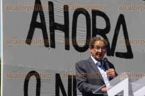 Ciudad de México, 26 de febrero de 2017.- En la Plaza de las Tres Culturas en Tlatelolco, el extitular de la CIDH, Emilio Álvarez Icaza presentó