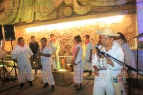 Papantla, Ver., 27 de febrero de 2017.- El secretario de Turismo, Leopoldo Domínguez, encabezó este lunes la presentación de la Cumbre Tajín 2017. Para el evento, se espera la visita de más de 40 mil personas por día.