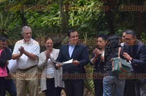 Xalapa, Ver., 22 de marzo de 2017.- Con la presencia del alcalde, Américo Zúñiga, se realizó el evento
