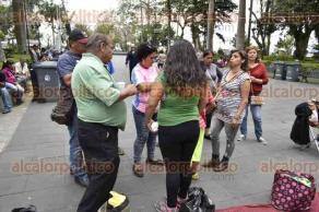 Xalapa, Ver., 22 de marzo de 2017.- La organización de vendedores