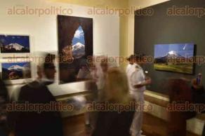 Xalapa, Ver., 22 de marzo de 2017.- La noche de este miércoles se inauguró la exposición