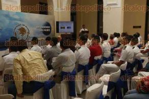 Veracruz, Ver., 23 de marzo de 2017.- La Comandancia de la Primera Región Naval ofreció la conferencia