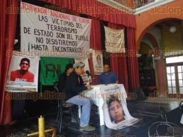 Xalapa, Ver., 23 de marzo de 2017.- Este miércoles se efectuó la presentación del libro