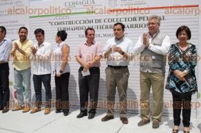 Xalapa, Ver., 24 de marzo de 2017.- El alcalde Américo Zúñiga, acompañado del senador José Francisco Yunes Zorrilla, inauguró la