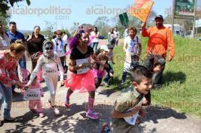 Xalapa, Ver., 26 de marzo de 2017.- En el parque Natura fue la Primera Gran Carrera de Disfraces de la Fauna de Veracruz, con dos categorías: infantil y adultos, lo recaudado será destinado para medicamento y esterilización de perros y gatos.