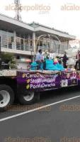 Orizaba, Ver., 26 de marzo de 2017.- Este domingo se efectuó la tercera marcha por la no discriminación de la comunidad Lésbico Gay.