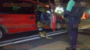Xalapa, Ver., 23 de abril 2017.- En el operativo participaron elementos de la Dirección de Tránsito del Estado, Transporte Público, Policía Estatal, binomios caninos de la Fuerza Civil, Policía Vial y paramédicos de la SSP.