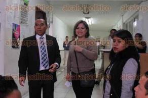Xalapa, Ver., 24 de abril de 2017.- Antonio Luna Andrade, se registró la tarde de este lunes como candidato independiente por la alcaldía de Xalapa ante el Organismo Público Local Electoral.
