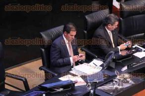 Ciudad de México, 26 de abril de 2017- Una sesión relajada y con ausencia de senadores se vivió este miércoles en la Cámara Alta, con poca atención de los legisladores asistentes.
