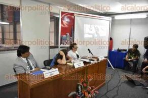 Xalapa, Ver., 26 de abril de 2017.- Como parte del foro académico