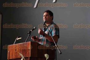 """Xalapa, Ver., 22 de mayo de 2017.- Evento """"Bienvenida del programa fomento al interés a la carrera científica y tecnológica para niños y jóvenes"""", en el auditorio del IMAC Xalapa."""
