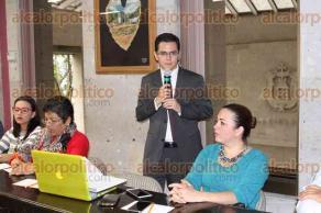 Xalapa, Ver., 24 de mayo de 2017.- El fiscal especializado en Delitos Ambientales y Contra los Animales, Andrés de la Parra Trujillo, asistió este miércoles al Congreso del Estado a una mesa de trabajo.