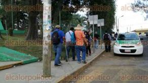 Xalapa, Ver., 26 de mayo de 2017.- Integrantes del MMPV liberaron la Secretaría de Educación de Veracruz alrededor de las 18:45 de este viernes, luego de que se pagaran salarios atrasados a seis docentes. La dependencia estuvo tomada desde las 6:00 horas.