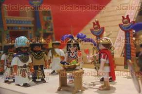 Ciudad de México, 28 de mayo de 2017.- En el museo El Caracol, en la Galería de Historia, se exhibe la exposición