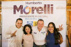 Boca del Río, Ver., 28 de mayo de 2017.- A una semana de concluir la campaña, el candidato de la alianza PAN-PRD a la alcaldía de Boca del Río, se reunió con profesionales de la salud, para escuchar las inquietudes de este sector.