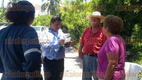 Papantla, Ver., 22 de junio de 2017.- Ejidatarios de la comunidad Emiliano Zapata bloquearon los accesos a la Planta de Inyección de Agua Congénita Central, pues la empresa Oleorey no les ha pagado por daños en sus cultivos, tras el derrame ocurrido en noviembre de 2016.