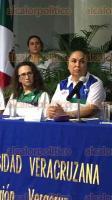 Veracruz, Ver., 23 de junio de 2017.- La rectora de la UV, Sara Ladrón de Guevara, encabezó la ceremonia de entrega de Estímulos y Reconocimientos a Deportistas Destacados en la Universiada Nacional 2017. El evento, en la sala de videoconferencias de la USBI Mocambo.