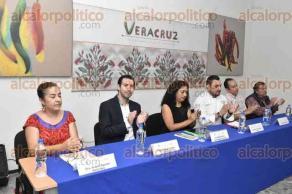 Xalapa, Ver., 23 de junio de 2017.- Este viernes se firmó un convenio entre el Centro de Investigaciones Tropicales y el Consejo Gastronómico Veracruzano para fomentar la cocina tradicionalcon ingredientes de la región.