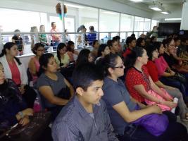Xalapa, Ver., 24 de junio de 2017.- En la Facultad de Pedagogía, Ricardo Corzo Ramírez, Sajid Demian Lonngi y Nydia Pérez Chávez, presentaron el libro