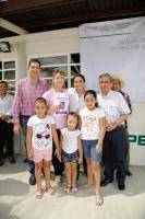 Playa Vicente, Ver., 24 de junio de 2017.- La delegada federal de SEDESOL en Veracruz, Anilú Ingram Vallines, inauguró este domingo un comedor comunitario en la localidad de Chilapa del Carmen.