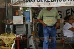 Veracruz, Ver., 26 de junio de 2017.- La lideresa del extinto Sindicato del SAS, Angélica Navarrete Mendoza, indicó que a un año de la desaparición del organismo, continúa en la lucha para que más de mil trabajadores reciban indemnizaciones justas.