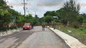 Papantla, Ver., 26 de junio de 2017.- Alrededor de las 15:00 horas, elementos de la Policía militar se movilizaron por supuesto plagio de una menor de 15 años.