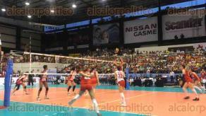 Córdoba, Ver., 23 de julio de 2017.- Con un marcador de 3-2, en parciales de 25-20; 25-20 y 15-12, el equipo japonés se logró colocar en la tercera posición del Campeonato Mundial Femenil de Voleibol Sub-20, desplazando a las turcas al cuarto lugar.