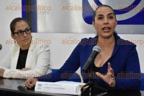 Xalapa, Ver., 24 de julio de 2017.- La diputada local del PAN, Cinthya Lobato Calderón, firmó convenios con varias universidades de Xalapa, para ofrecer becas a estudiantes veracruzanos.
