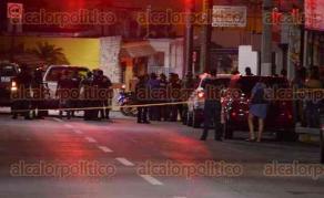 Córdoba, Ver., 25 de julio de 2017.- Tiroteo dentro del bar La Sobremesa, cerca de la media noche de este lunes.