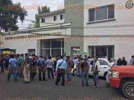 Xalapa, Ver., 25 de julio de 2017.- Integrantes de AC, se manifiestan en las oficinas de SEDARPA para exigir que se les entreguen apoyos para el campo que se les han venido prometiendo desde el mes de enero.