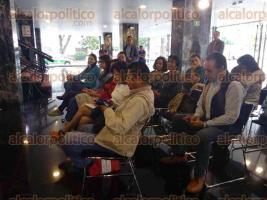 Xalapa, Ver., 25 de julio de 2017.- Anuncian la Muestra Estatal de Teatro Veracruz 2017 que será del 31 de julio al 13 de agosto, en la sala