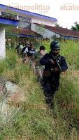 Otatitlán, Ver., 26 de julio de 2017.- Con fuerte operativo táctico, fuerzas del orden logran ubicar a comerciante oaxaqueño secuestrado la noche del martes.
