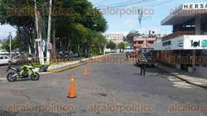 Xalapa, Ver., 27 de julio de 2017.- Elementos de la Policía Vial, Policía Estatal y Fuerza Civil, mantienen operativos de seguridad en distintos puntos de la ciudad, con la finalidad de reducir el índice delictivo que ha venido aumentando en la capital.