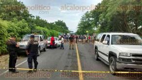 Tecolutla, Ver., 17 de agosto de 2017.- La mañana de este jueves, personal de la Policía Ministerial se movilizó sobre la carretera Tecolutla-Gutiérrez Zamora, para atender el reporte de un accidente automovilístico.