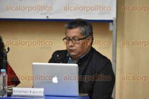 """Xalapa, Ver., 17 de agosto de 2017.- Conferencia """"Victimización y acción colectiva"""