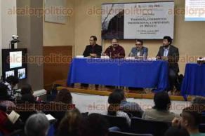 Xalapa, Ver., 17 de agosto de 2017.- Como parte del seminario