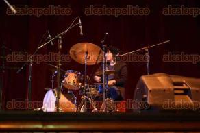 Xalapa, Ver., 24 de septiembre de 2017.- La tarde de este domingo varios grupos musicales participaron en el concierto con causa en el Teatro del Estado, en beneficio de las personas afectadas por los terremotos distintos estados del país.