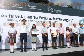 Xalapa, Ver., 25 de septiembre de 2017.- El gobernador inauguró la campaña