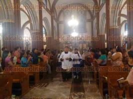 Xalapa, Ver., 25 de septiembre de 2017.- Como parte del Encuentro Estatal de la Juventud Católica, el movimiento