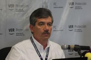 Xalapa, Ver., 20 de octubre de 2017.- Federico Acevedo Rosas, meteorólogo de la Secretaría de Protección Civil, informó la presencia de un nuevo frente frío número 6 que ingresará el próximo domingo al noroeste del Golfo de México que aumentará el potencial de lluvias.